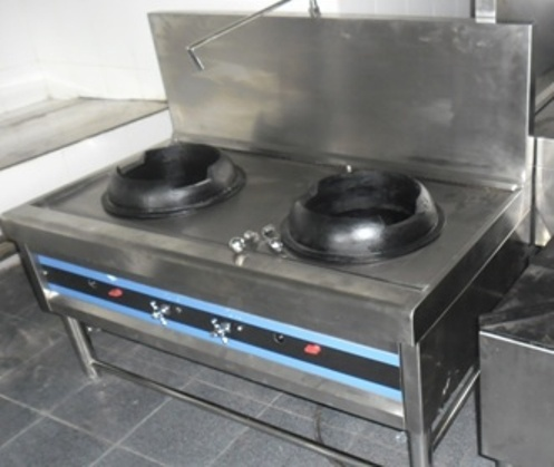 Double Kwali Range, Gas Double Wok Range