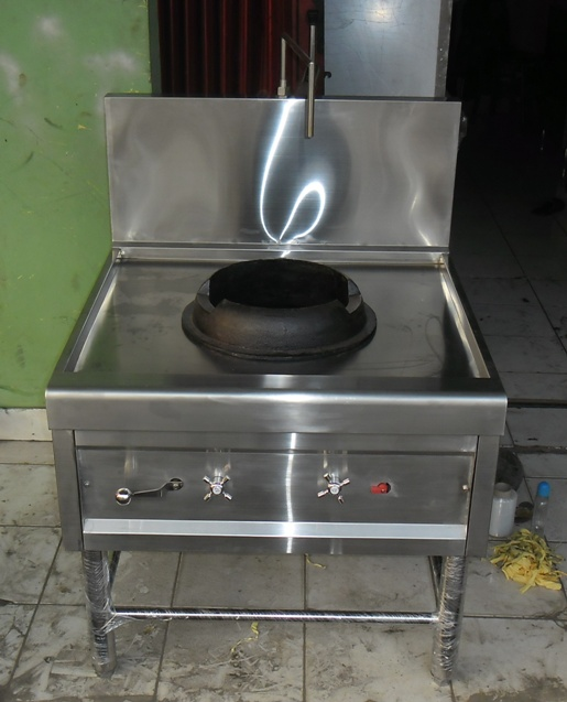 Kompor / Stove Stainless Steel with Gas Burner