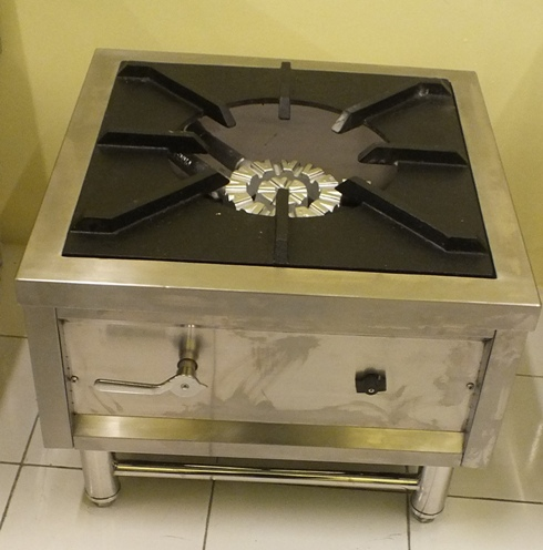 Gas Stock pot Stove Stainless Steel