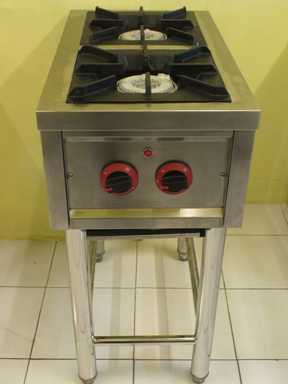 Kompor Gas Stainless 2 Tungku Model Slim | Gas Stove 2 Burner Model Slim